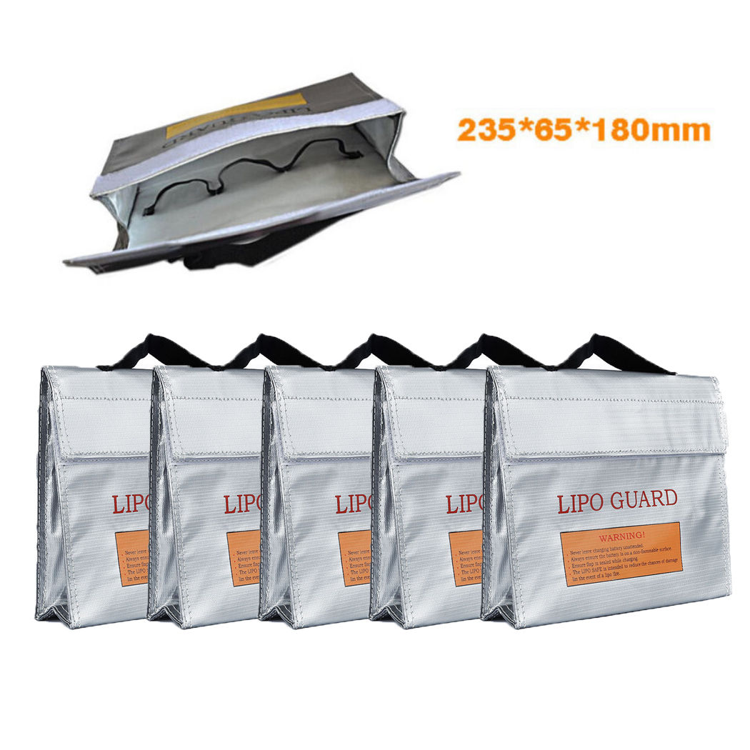 LiPo Safe Battery Guard Explosion Proof Protection Bag 240X65X180