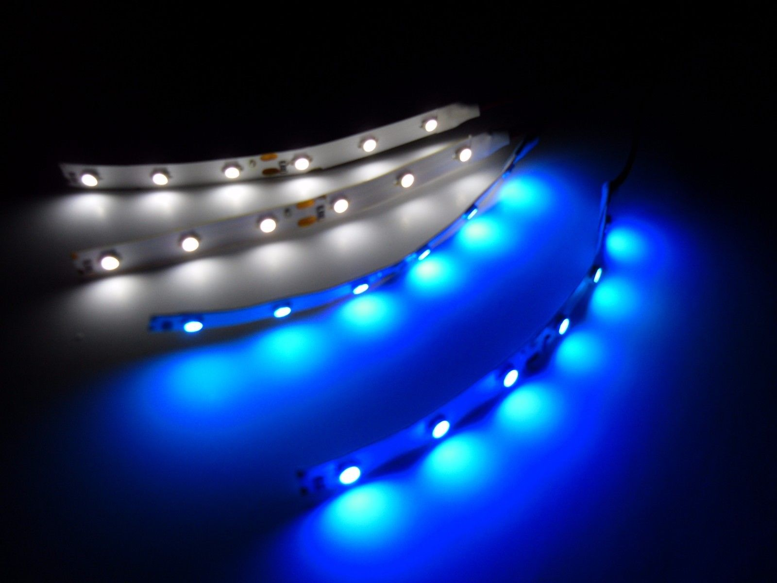 RC Blue and White 3528 LED Strip