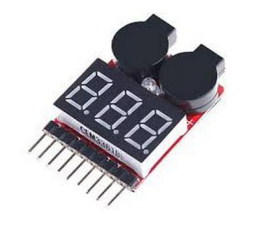Lipo Battery Voltage Tester Low Voltage Buzzer Alarm