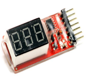 new 2s-6s Lipo Battery Voltage Tester Low Voltage Buzzer Alarm