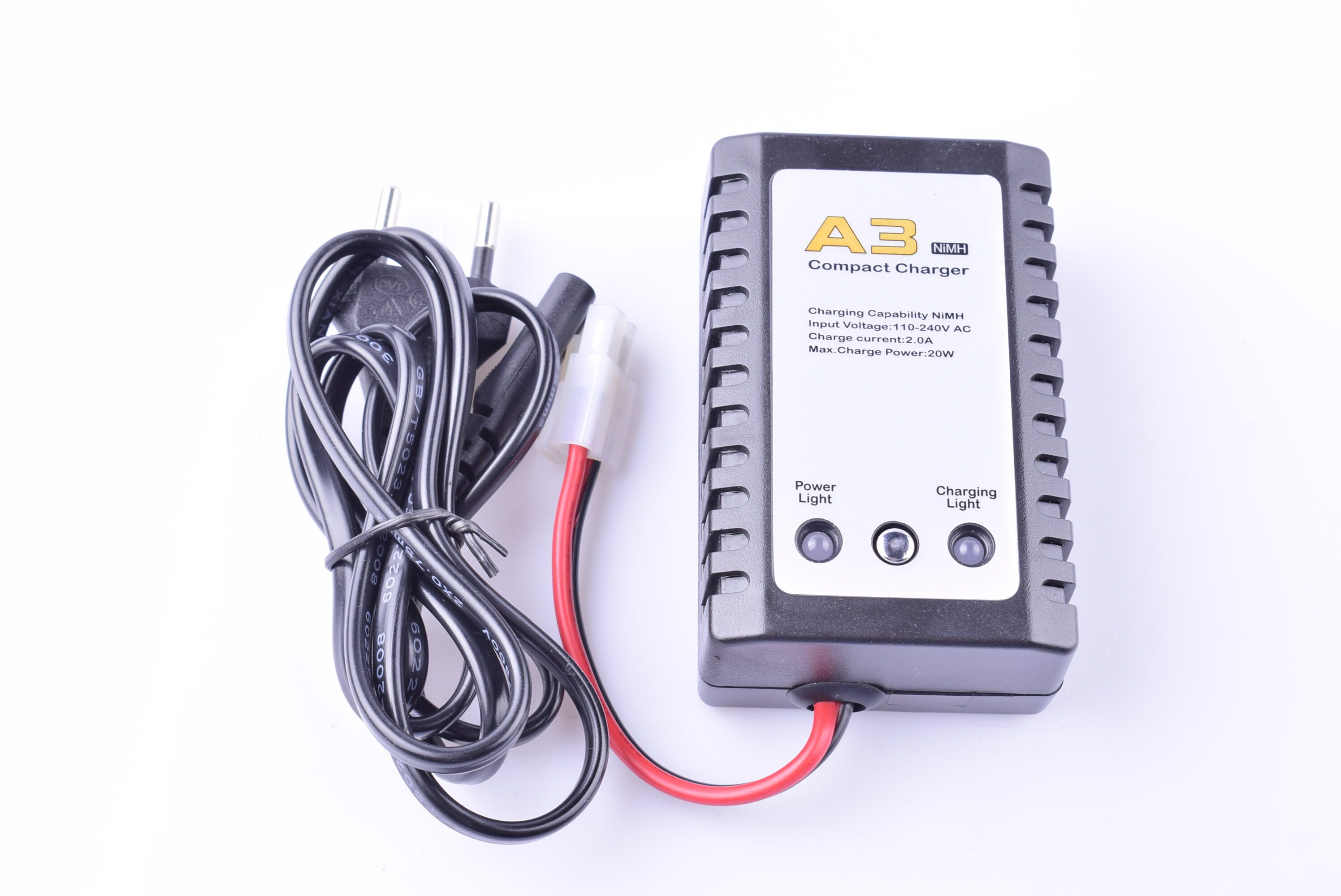 A3 AC Charger for nimh and ni-cd battery